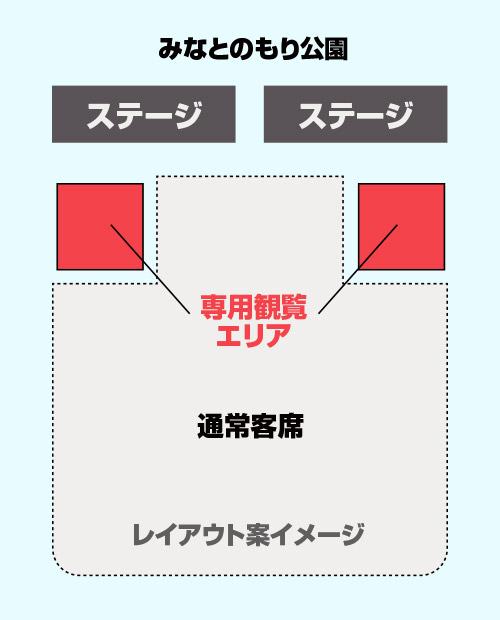 COMING KOBE18エクスプレスTシャツ/優先観覧エリア